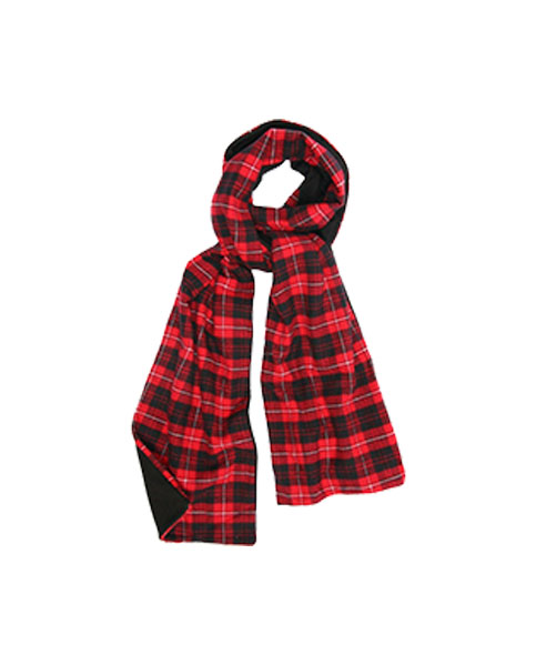 flannel-scarf